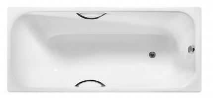Ванна чугунная c отверстиями для ручек 1700х750х458 Wotte (БП-э0001105) Start УР