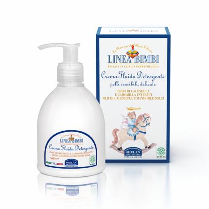 Детское очищающее молочко Helan Linea Bimbi для лица и тела 240 мл