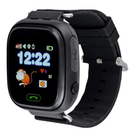 Умные детские часы Smart Watch Q90 (Черный)