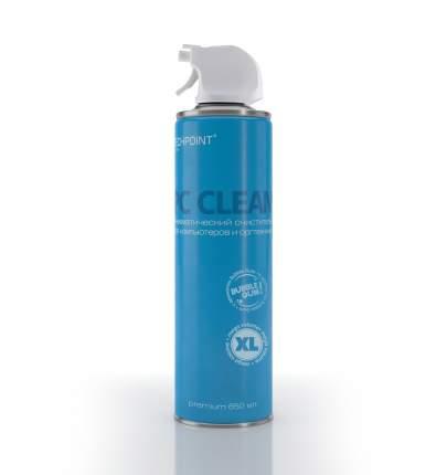 Баллон со сжатым воздухом очиститель техники антибактериальный 650мл Techpoint