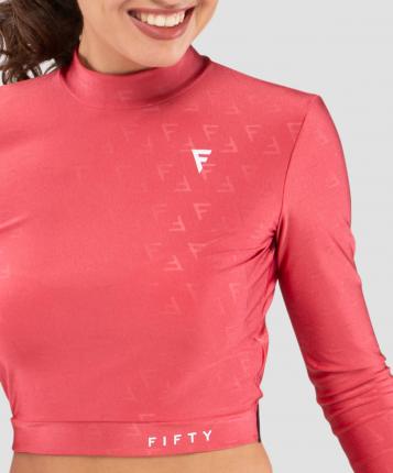 FIFTY Женская футболка с длинным рукавом Majesty  magenta FA-WL-0201-MGT, пурпурный - L