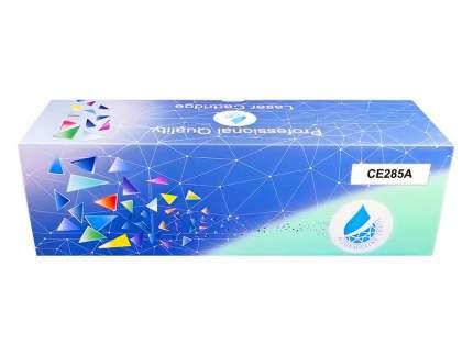 Картридж для лазерного принтера Aquamarine CE285A черный, совместимый