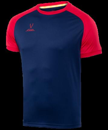 Футболка футбольная Jogel Camp Reglan, темно-синяя/красная, XS