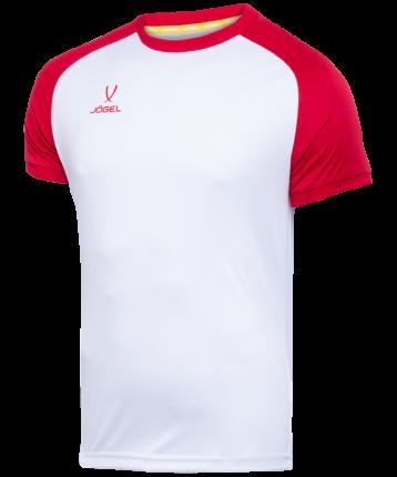 Футболка Jogel Camp Reglan, белый/красный, XS INT