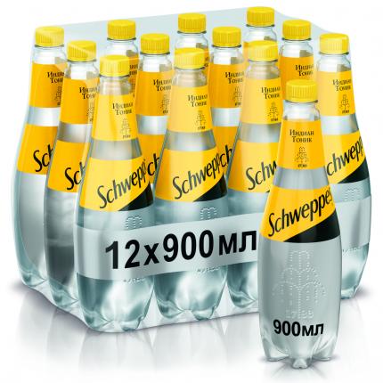 Лимонад Schweppes  Indian Tonic 0,9л/12