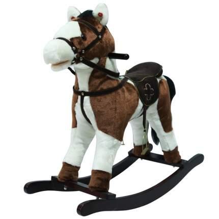 Качалка-лошадка Pituso Белый с коричневым