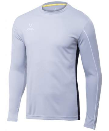 Футболка Jogel Camp GK Padded LS, серый/черный/белый, XS INT