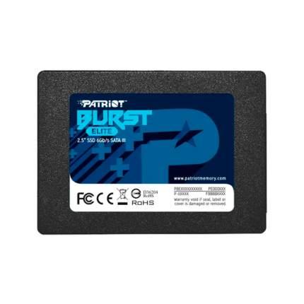 Внутренний SSD накопитель Patriot Burst Elite 120GB (PBE120GS25SSDR)