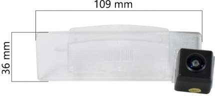 Штатная HD камера заднего вида AVS327CPR (#035) для HYUNDAI/KIA