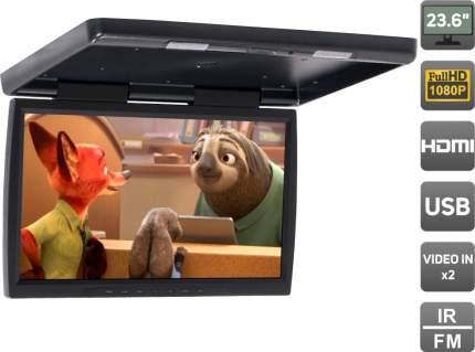"""Потолочный монитор 23,6"""" со встроенным Full HD медиаплеером AVS2230MPP (черный)"""
