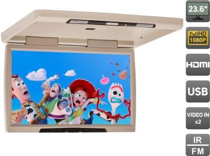"""Потолочный монитор 23,6"""" со встроенным Full HD медиаплеером AVS2230MPP (бежевый)"""