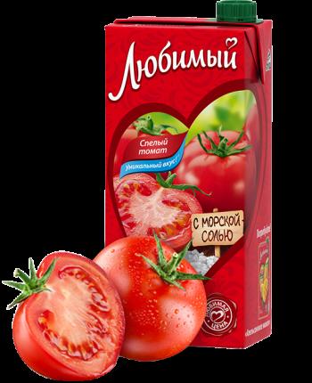 Сок Любимый томатный