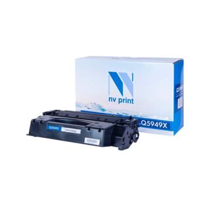 Тонер для лазерного принтера NV-Print Q5949X NV-Q5949X черный
