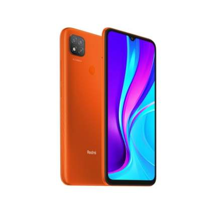 Смартфон Redmi 9C NFC 3+64GB RU Sunrise Orange