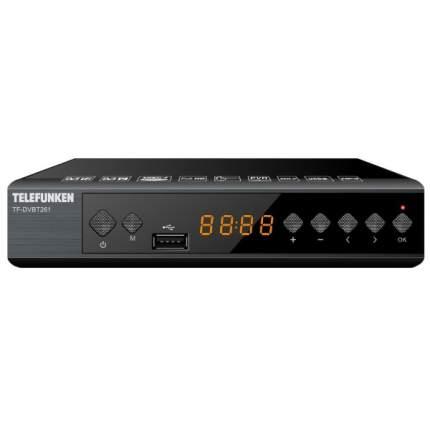 DVB-T2 приставка Telefunken TF-DVBT261 Black