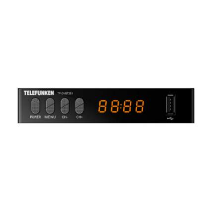 DVB-T2 приставка Telefunken TF-DVBT251 Black
