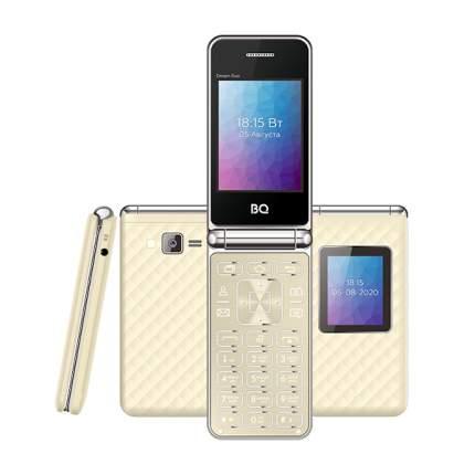 Телефон BQ 2446 Dream Duo (Золотой)