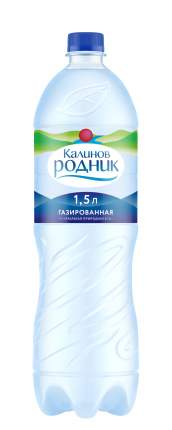Вода минеральная Калинов Родник газированная 1,5 л