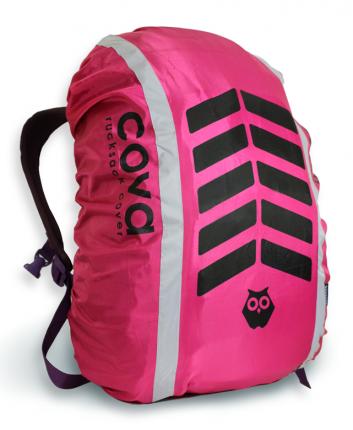 """Чехол на рюкзак """"СИГНАЛ"""", цвет фуксия, объем 20-40 литров, PROTECT"""