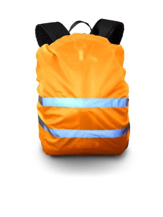 Чехол сигнальный на рюкзак, оранжевый, PROTECT