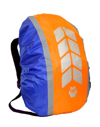 "Чехол на рюкзак ""МИКС"", цвет вас-к-оранж, объем 20-40 л, PROTECT"