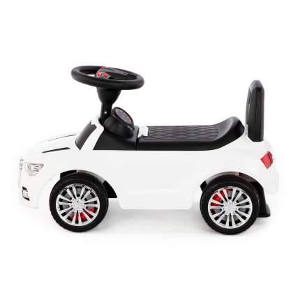 Каталка-автомобиль Полесье SuperCar №2 со звуковым сигналом, белая