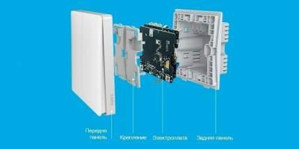 Умный выключатель Aqara Wall Light Switch One Button Edition (QBKG21LM)