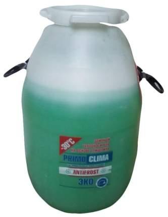 Теплоноситель Primoclima Antifrost (Глицерин) -30C ECO 50 кг бочка (цвет зеленый)