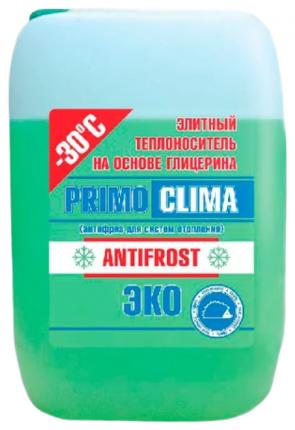 Теплоноситель Primoclima Antifrost (Глицерин) -30C ECO 20 кг канистра (цвет зеленый)