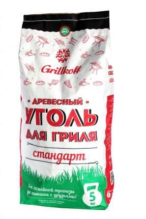 Уголь древесный Грилькофф Стандарт 5 кг