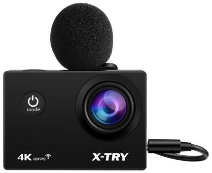 Видеокамера экшн X-TRY XTC195 EMR 4K WiFi