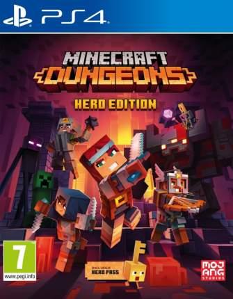 Игра Minecraft Dungeons Hero Edition (Героическое Издание) для PlayStation 4