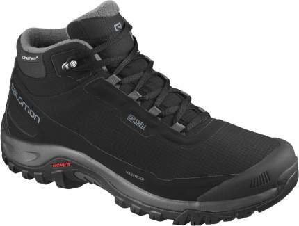 Ботинки Salomon Shelter Cs Wp, black/ebony/black, 9 UK