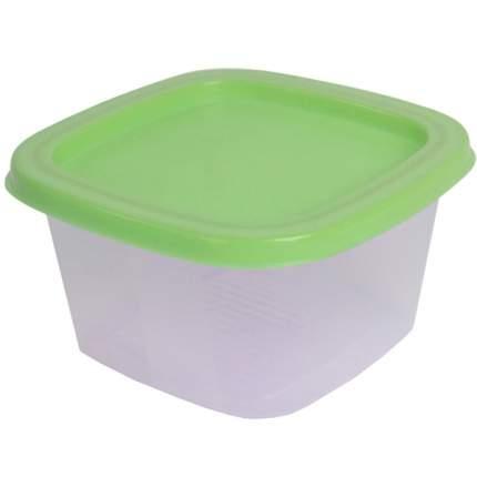 Контейнер Welle 1,55л, Transparent/Light Green(W-005)