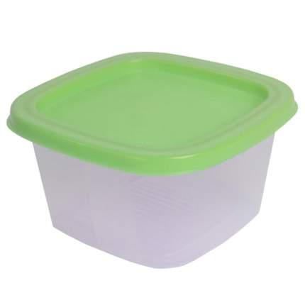 Контейнер Welle 0,5л, Transparent/Light Green(W-003)