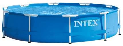 Каркасный бассейн Intex Metal Frame 28210 366x366x76 см