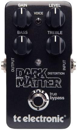 Tc Electronic Dark Matter Distortion напольная аналоговая гитарная педаль эффекта дисторшн