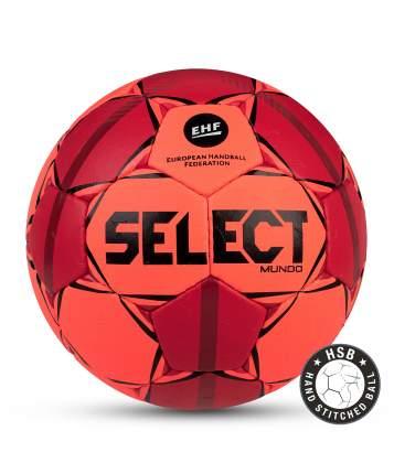 Мяч гандбольный MUNDO №3, оранж/крас/чер