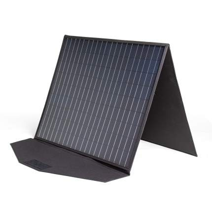 Солнечная панель TOP-SOLAR-102 100W 18V DC и HPP, влагозащищенная, складная на 2 секции