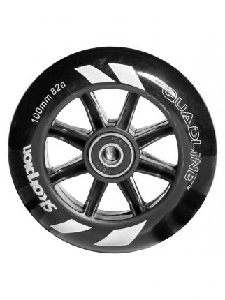 Колесо SKORPION (SQU) серебристый, черный, 100X24