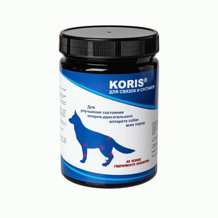 Пищевая добавка для собак Koris, для связок и суставов (250 таб.)