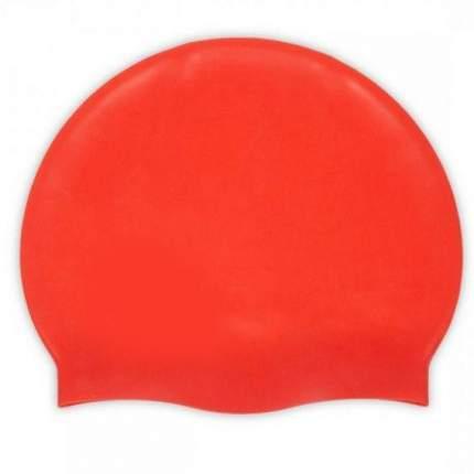 Силиконовая шапочка для плавания Afiter (Цвет: Красный  )
