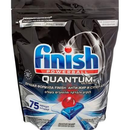 Финиш Квантум Ультимейт / Finish Quantum Ultimate - Таблетки для посудомоечных машин 75 шт