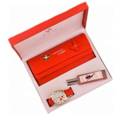 Набор подарочный MyPads M-36870 часы кошелек и духи подарок ребенку девочке