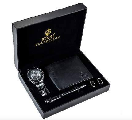 Подарочный набор MyPads M-A04996 часы и кошелек подарок  мужу отцу сыну брату