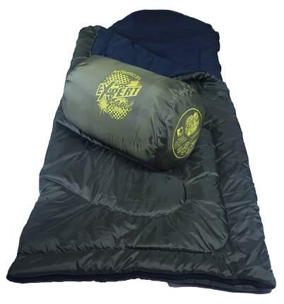 Спальный мешок MedNovtex Эксперт -20 зеленый, левый