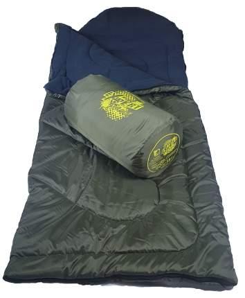 Спальный мешок MedNovtex Эксперт -15 зеленый, левый