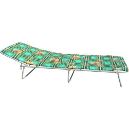 Кровать раскладная с матрасом 20 мм Раскладушки Плюс Плюс Серый 60х190