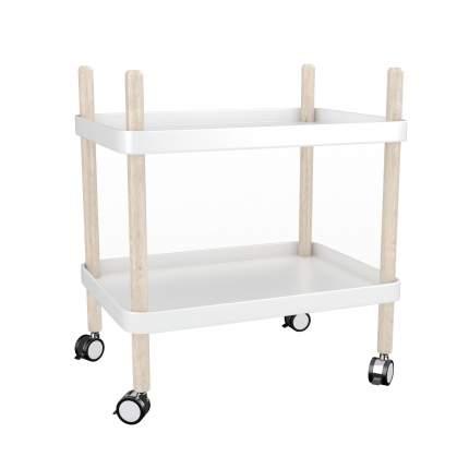 Сервировочный столик Loftyhome Cedar white 263-W