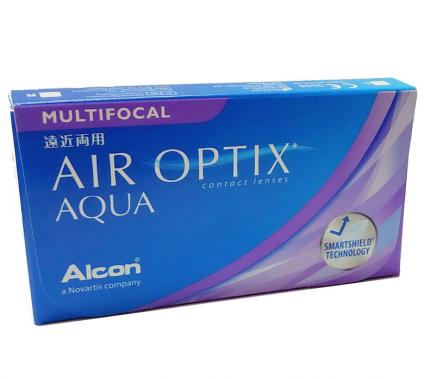 Контактные линзы Alcon Air Optix Aqua Multifocal, -6.25, add LOW